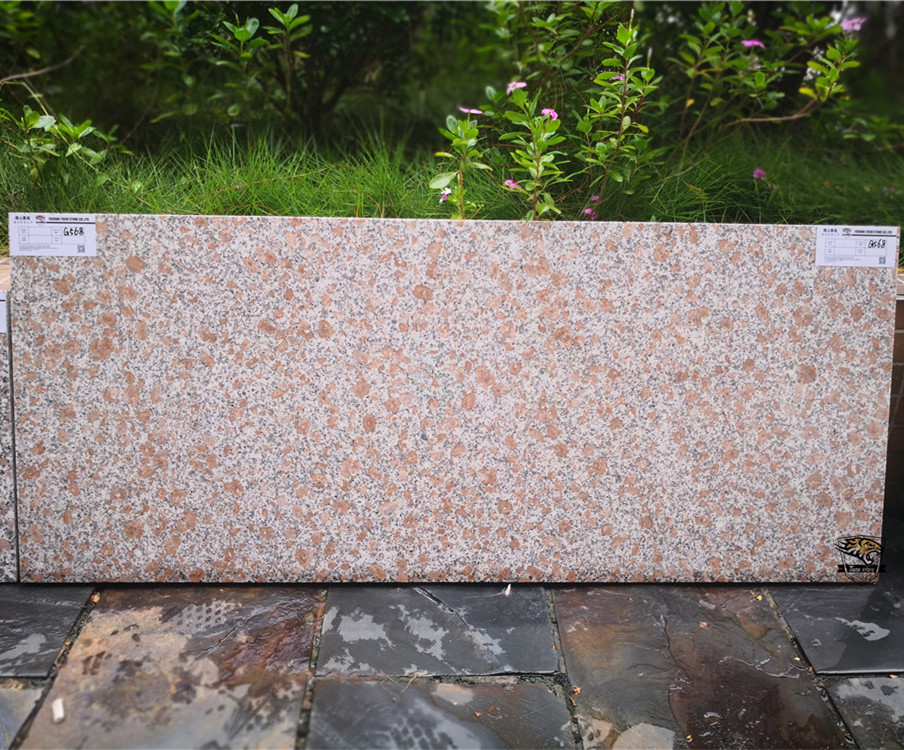 G568 Magenta Granite Interior Floor Tiles and Slabs