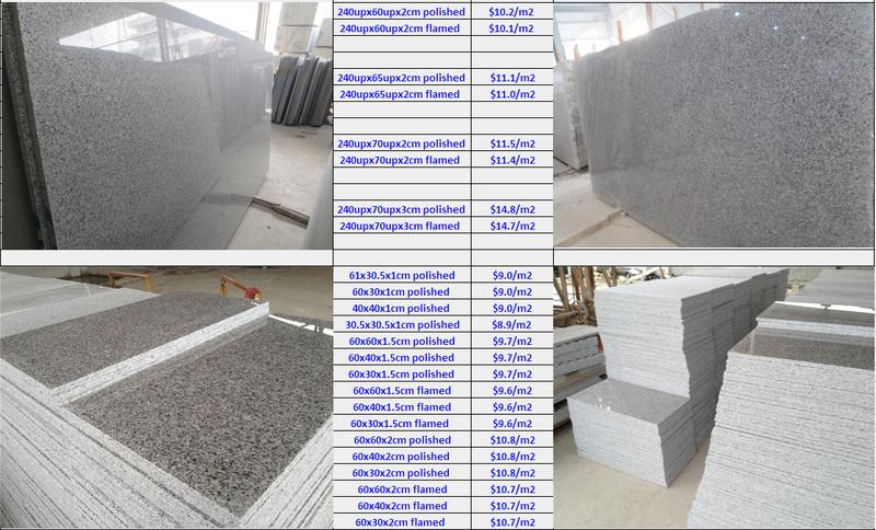 G603 Chinese grey granite