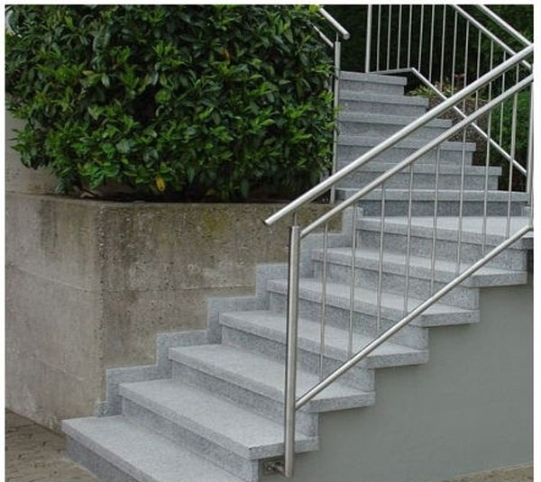 G603 Granite Stairs and Risers Chinese Mine Direct Selling