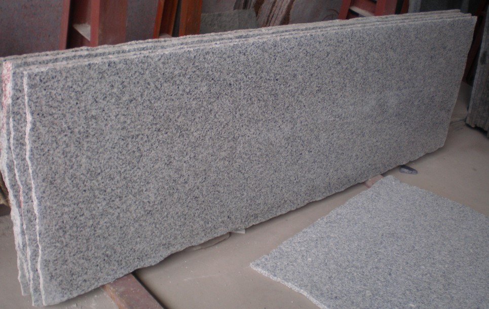Natural Stone Grey Granite G603 Slab for Countertop  Flooring