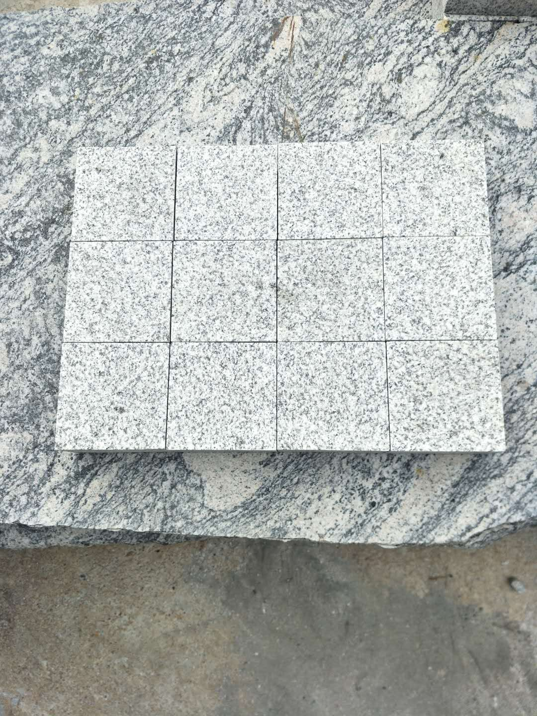 China light grey G603 cobbles