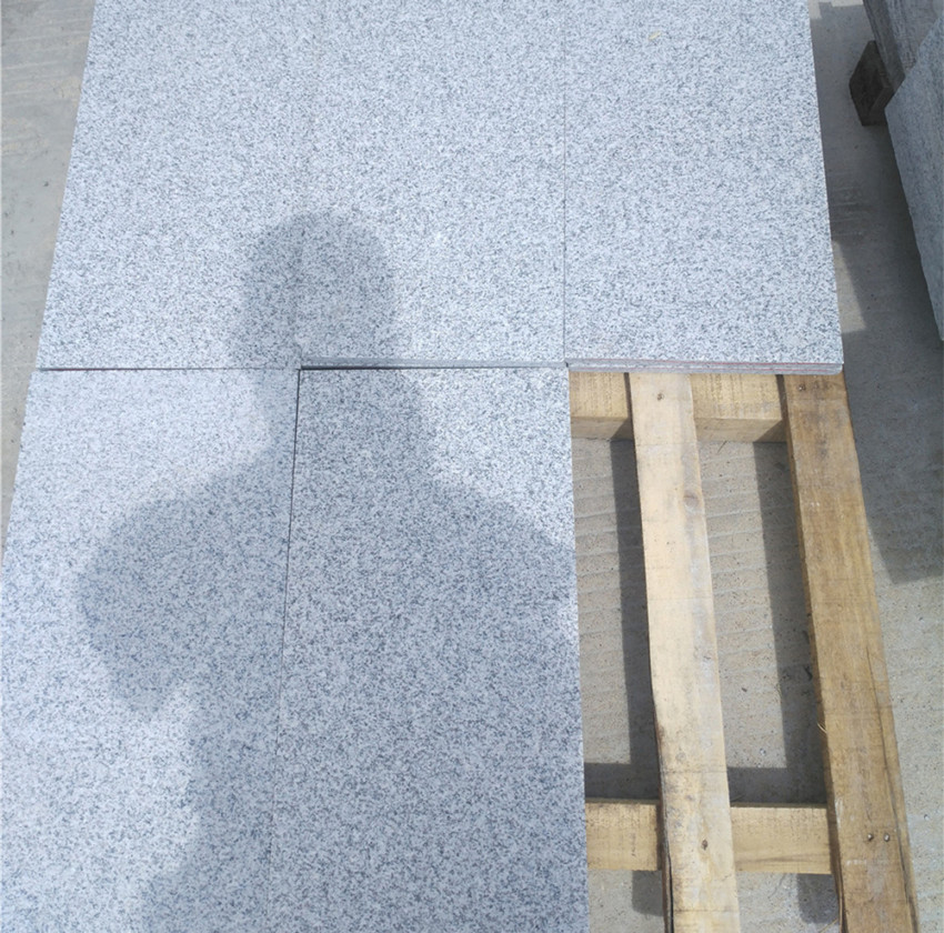 Light Grey G603 Flamed Paving