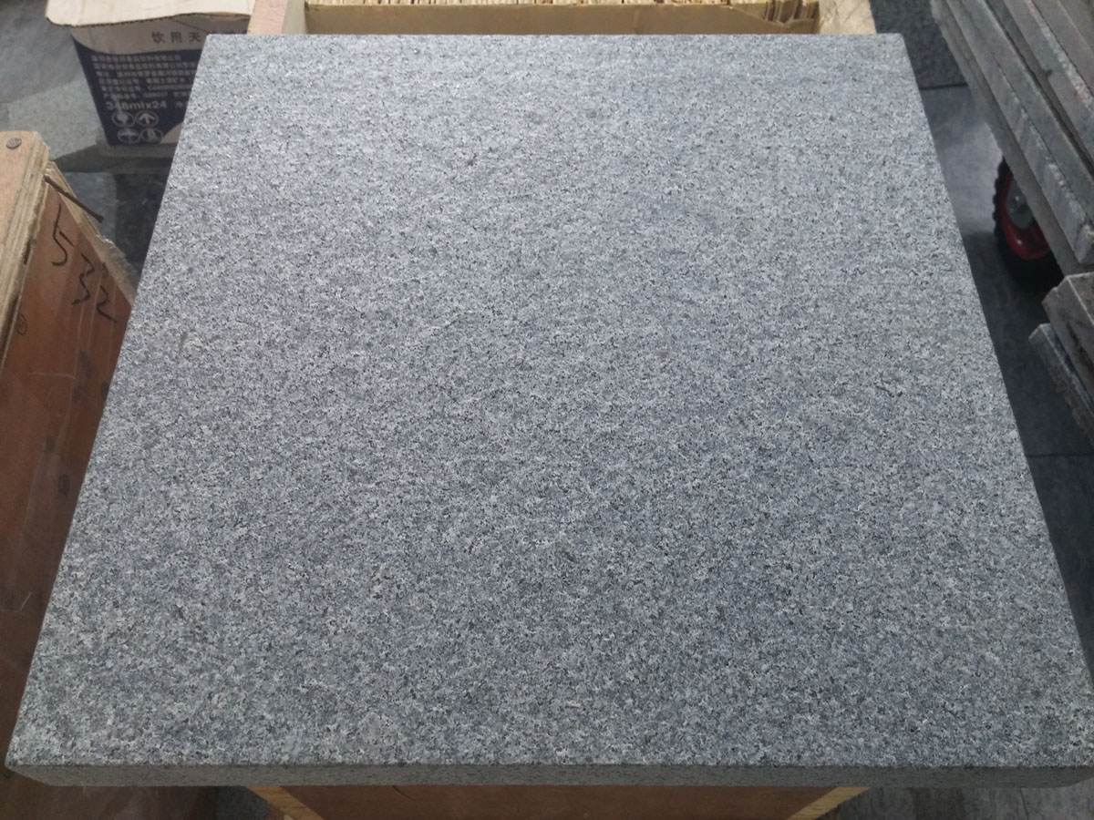 G654 Flamed Granite Tiles with Competitive Price