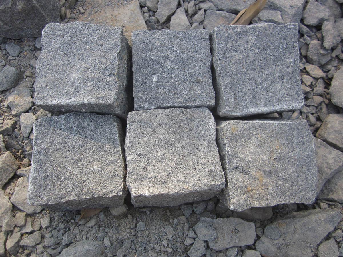 G654 Natural Granite Cube Stone for Paving
