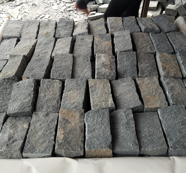 G654 Cube Stone for Outdoor Paving