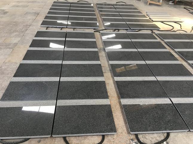 G654 Sesame Black Granite Tiles