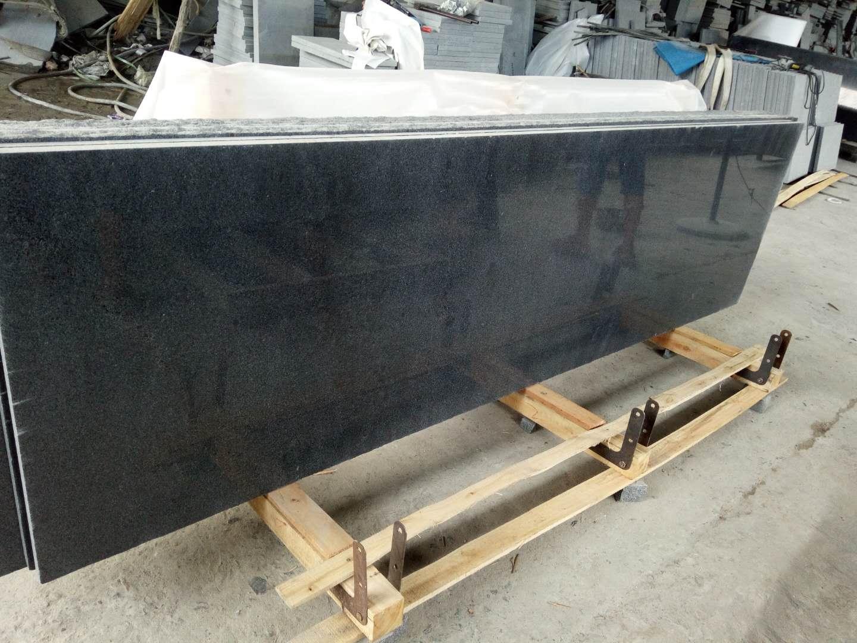 G654 Polished Grey Granite Half Slab