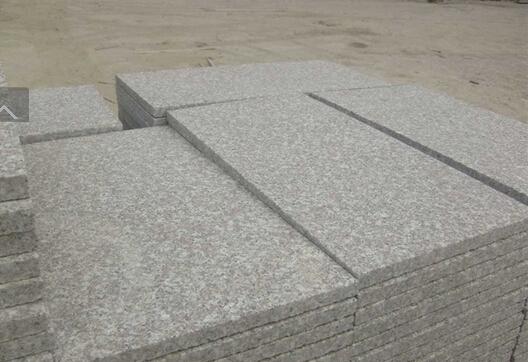 G664 Flamed tiles