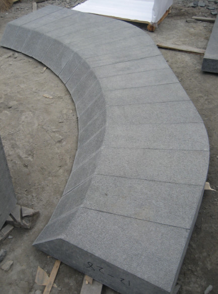 G684 Black Basalt Pool Coping Stone