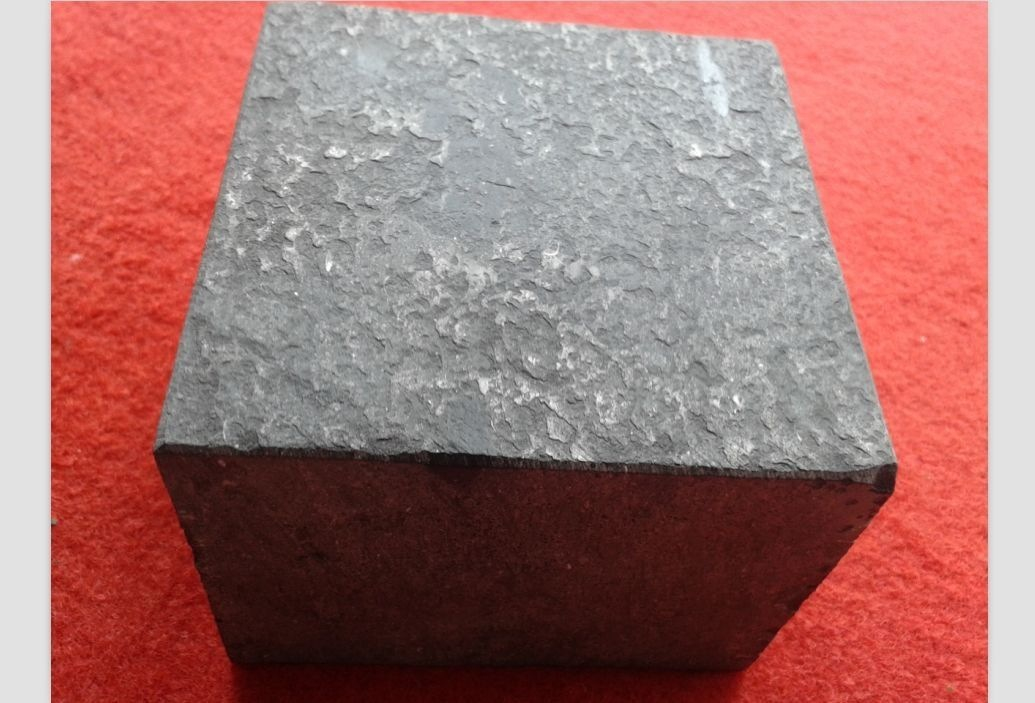 Chinese black basalt G778 Cube Stone Flamed surface