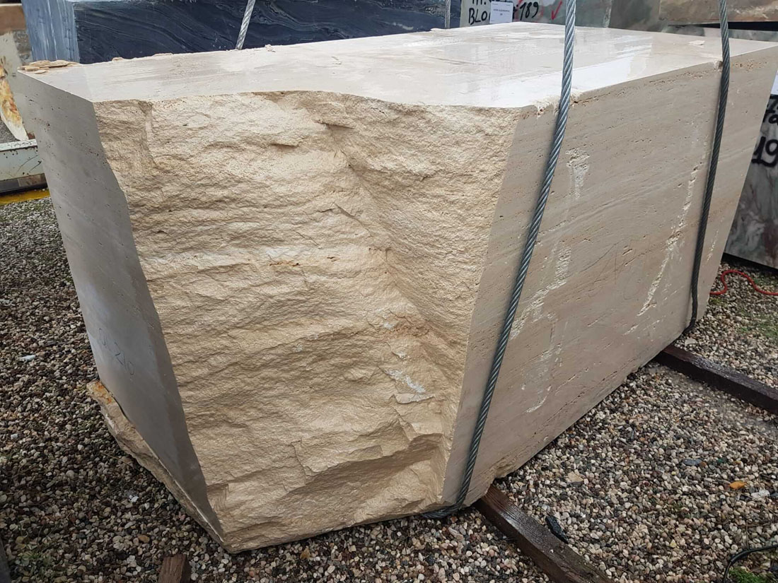 Travertino Romano Classico Travertine Blocks