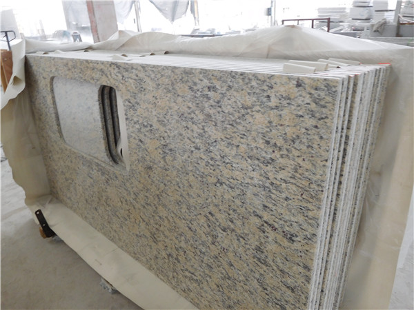 GIALLO CECILIA GRANITE COUNTERTOP