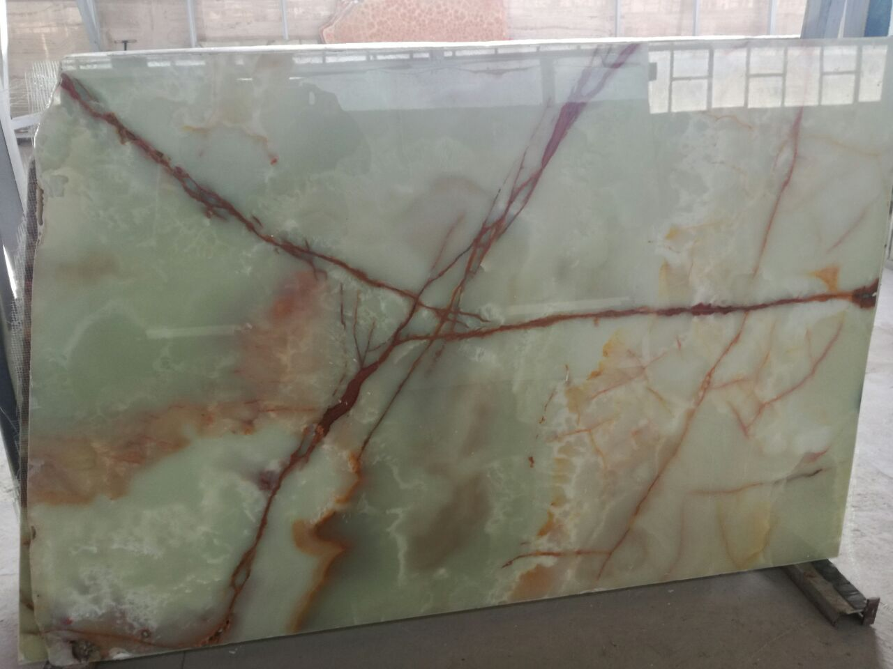 green marble from kerman