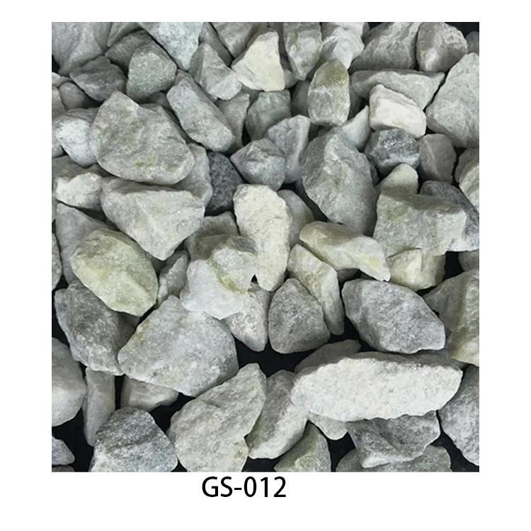yellow & green pebble gravel stone GS-012