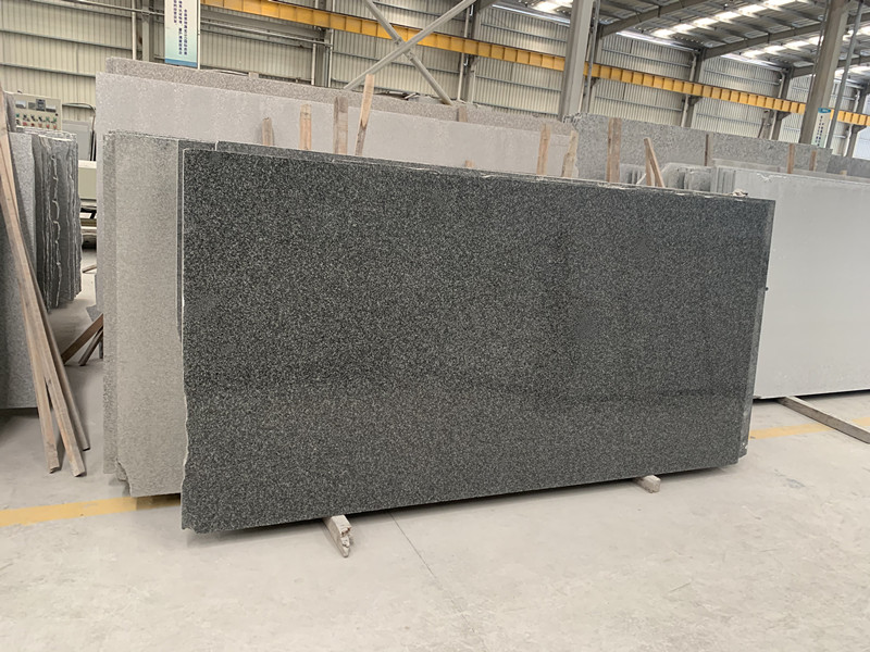 New G654 granite slab.