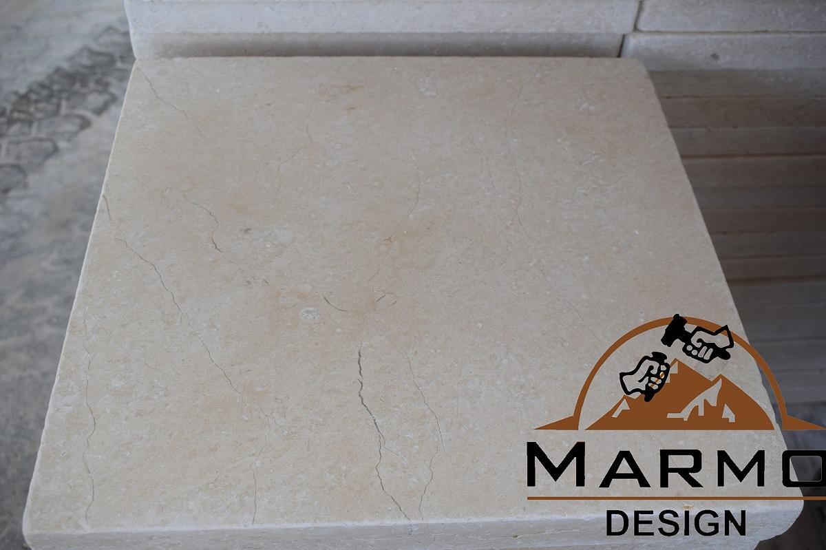 Galala Beige Tumbled Marble Tiles