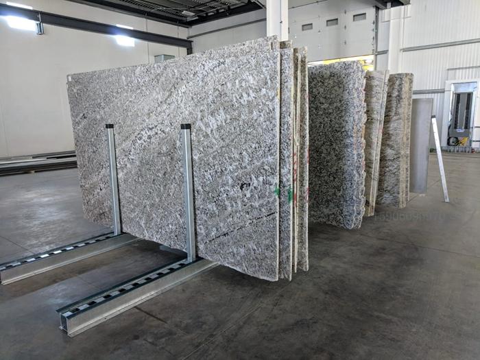 Galvanized Granite Quartz Marble slab rack