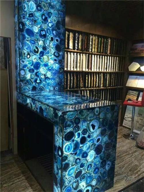 gem stone table top
