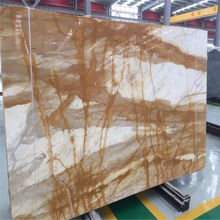 Best Quality Giallo Siena Marble Slab Price