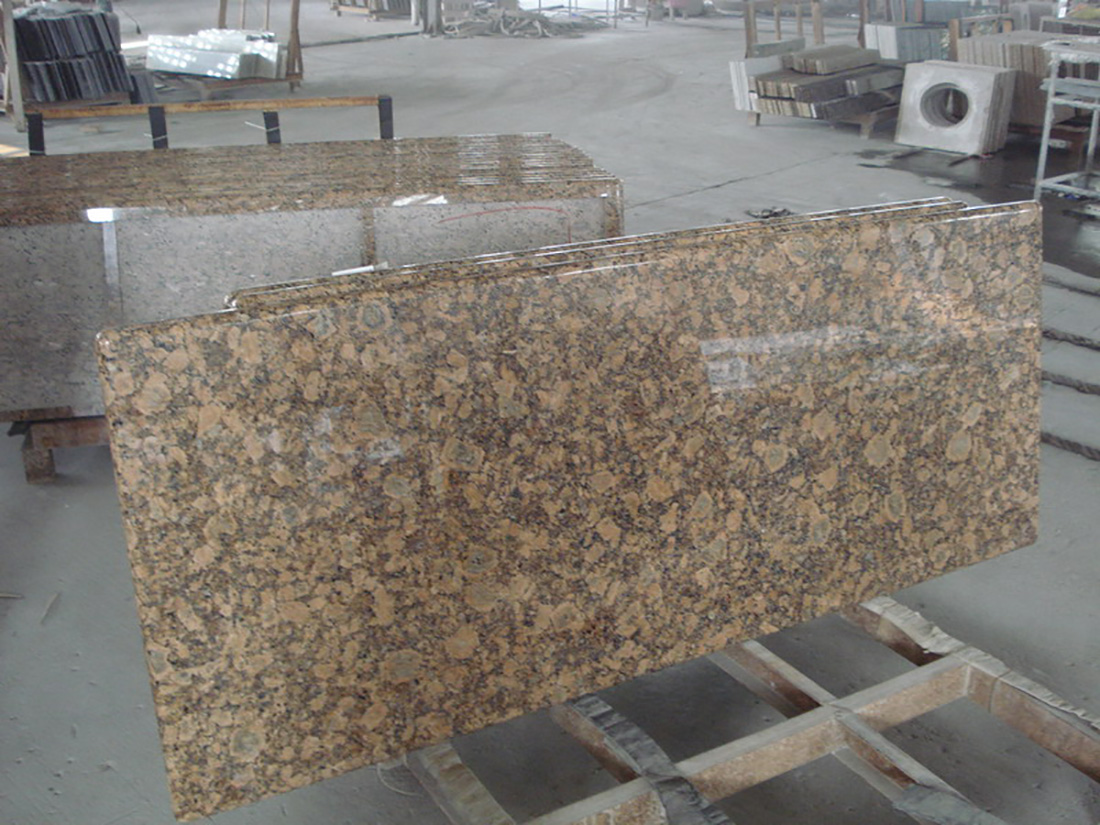 Giallo Fiorito Granite Kitchen Tops
