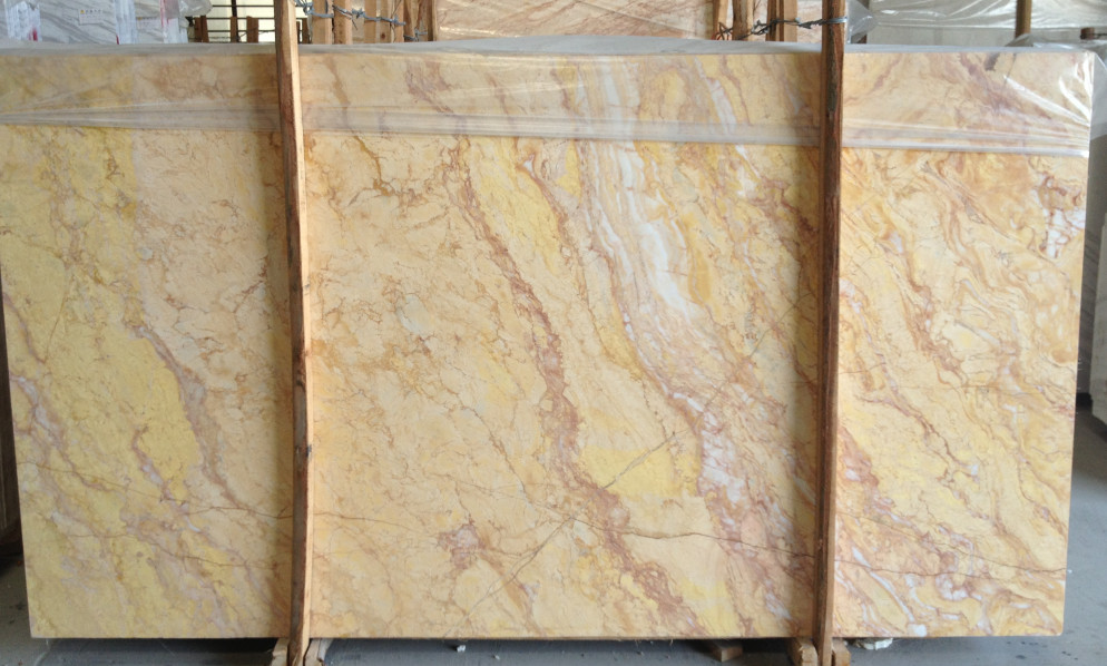 Giallo Venus Marble Slabs Yellow Slabs