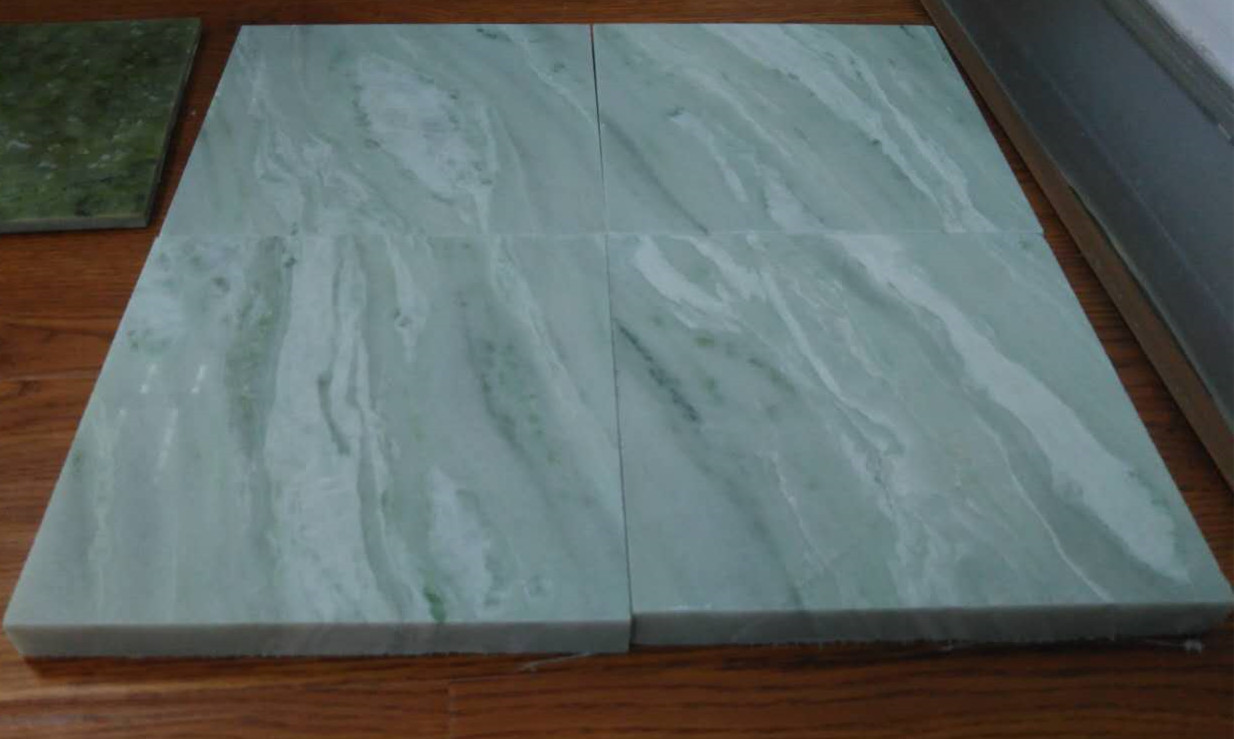 Glacier green marble slabChinese marble