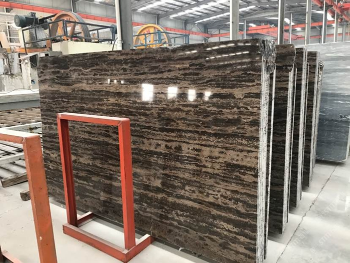 Golden Brown Wooden Marble