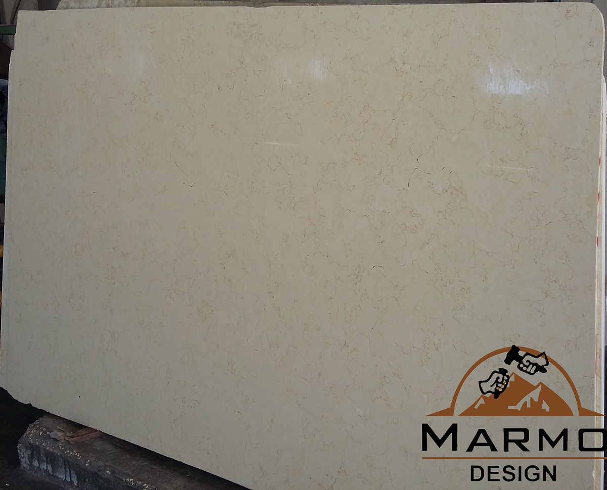 Golden Cream Polished Marble Slabs