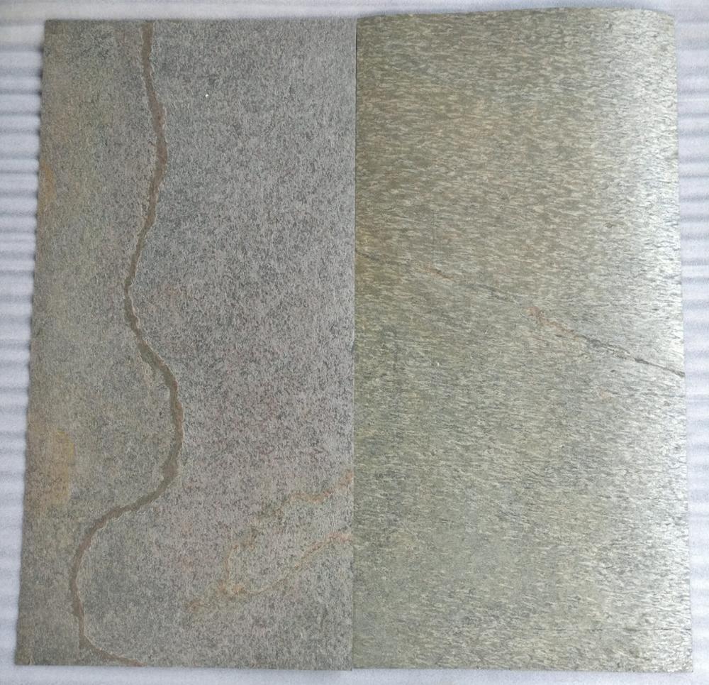 Golden Slate Flexible Thin Stone Veneer Sheet