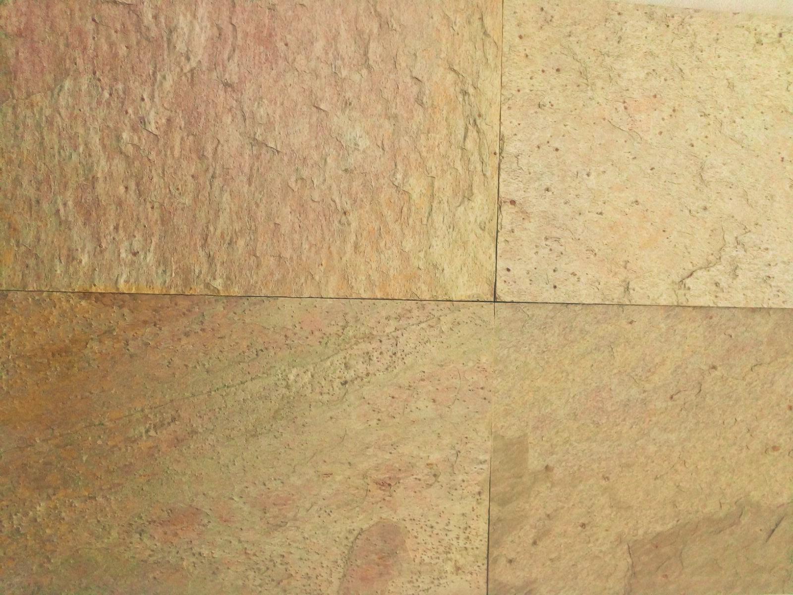 Golden Slate Tiles
