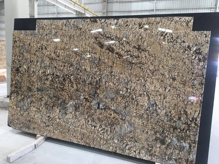 Golden Tiger Granite Slab
