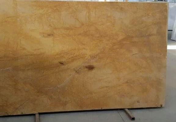 Gold marble slab