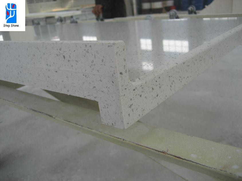White silestone quartz countertops