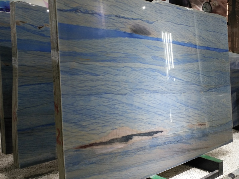 Grand Skylight Blue Quartzite Azul Imperial Macaubas Quartzite Blue Sky Quartzite Slabs