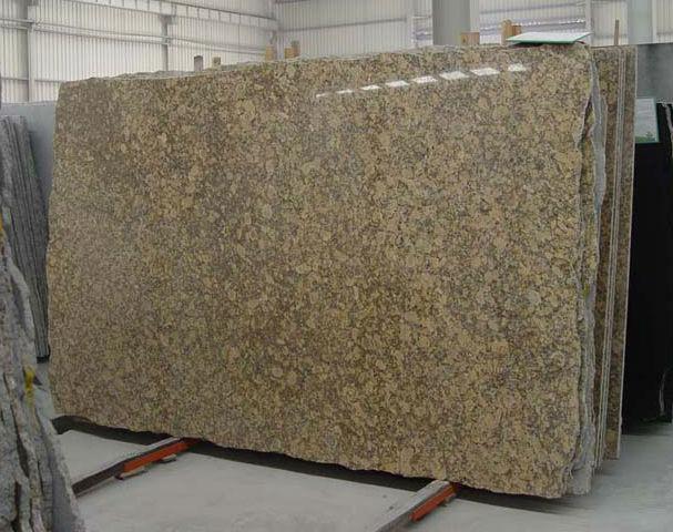 Giallo Fiorito Granite Slab
