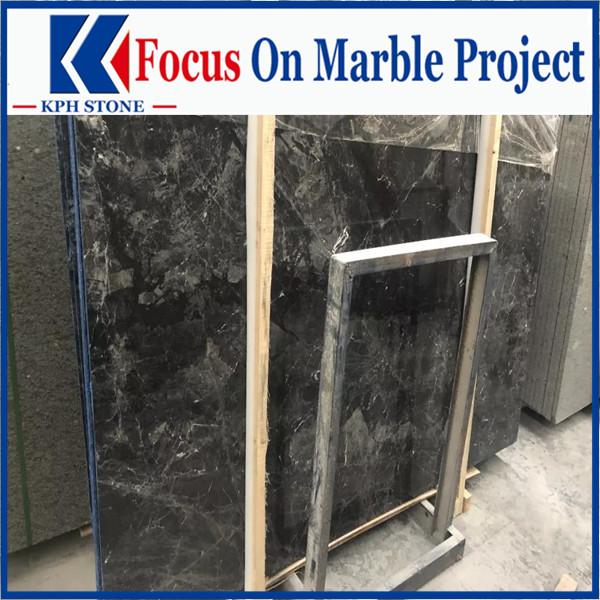 Grayish blue marble