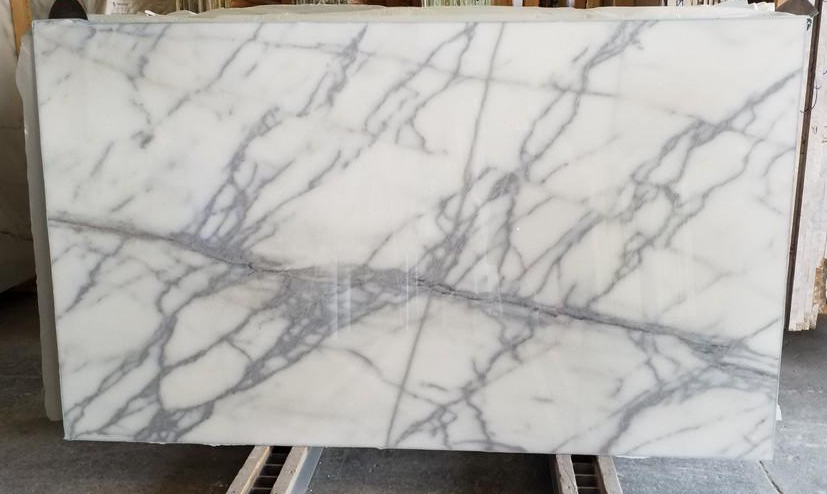 Graylac White Marble Slab 2cm