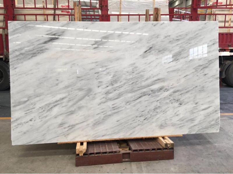 Greece New Grey Veins Ziarat White Marble