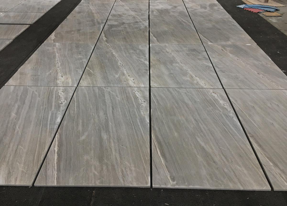 Greek Blue Polished Marble Flooring Tiles