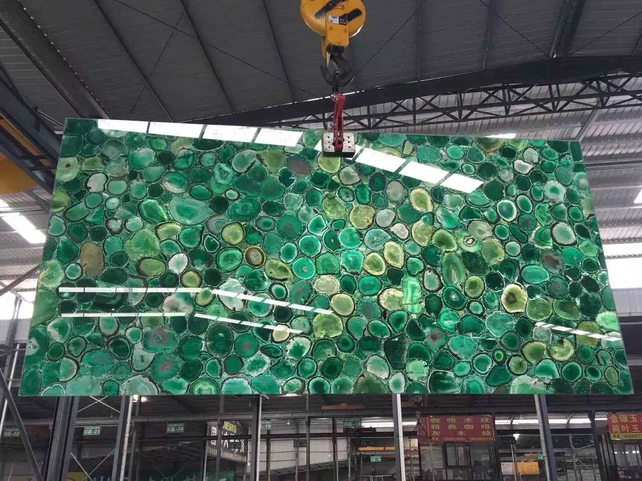Green Jade semi precious