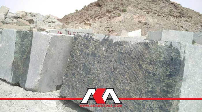 Green Leopard Granite Blocks
