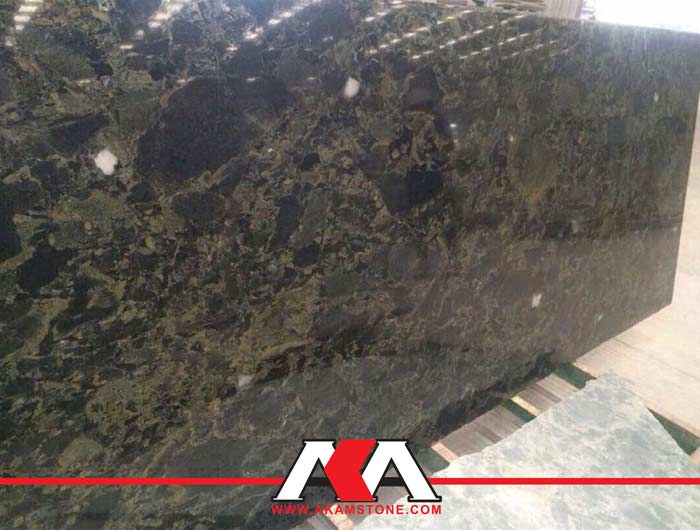 Green Leopard Granite Slabs