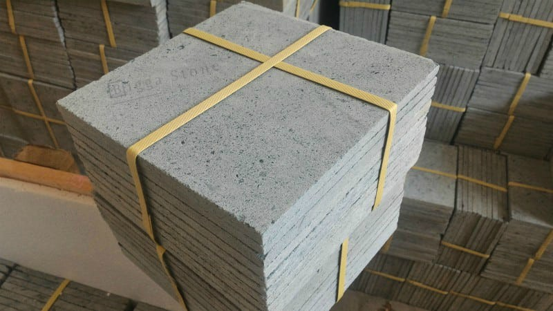 Premium Green Sukabumi Piscina Pedra Hijau Tiles