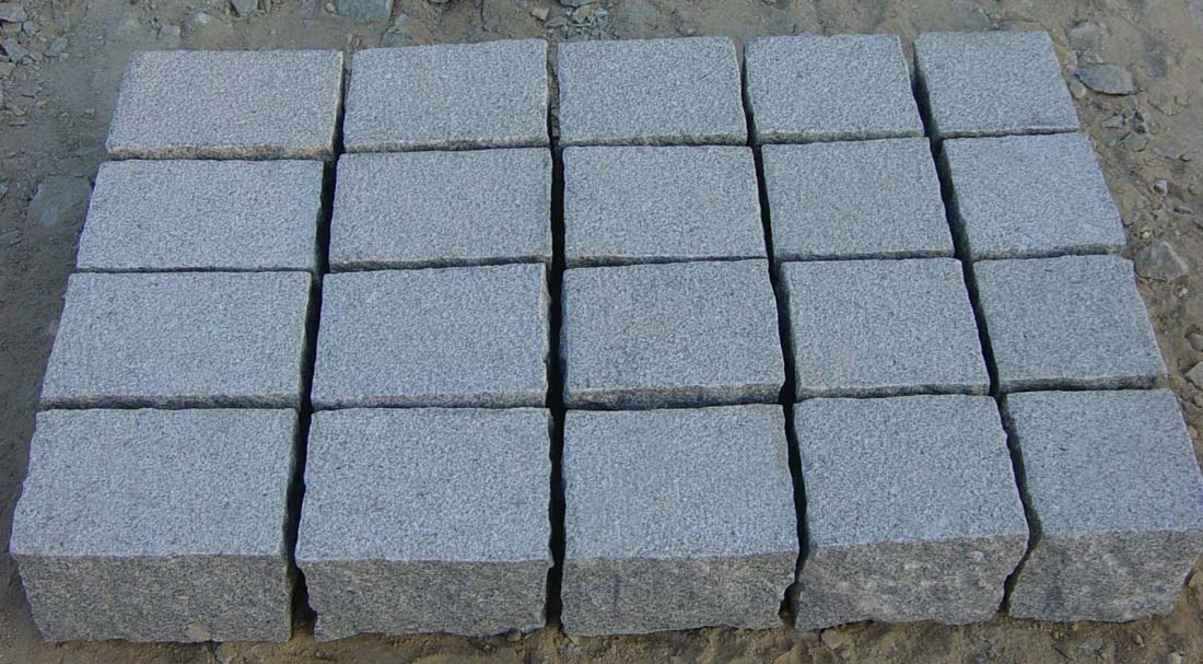 Grey Granite Paving Stones