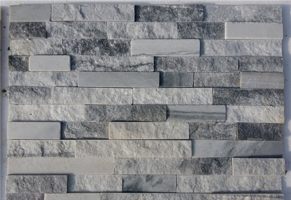Grey quartzite stone