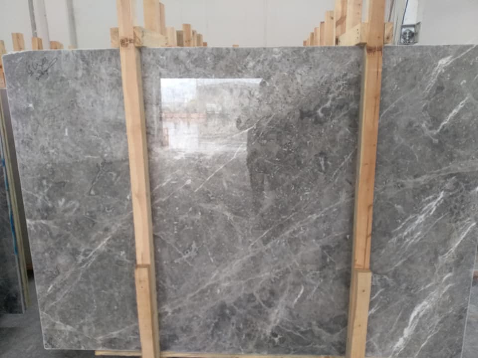 Grey Marble Slab from Turkey
