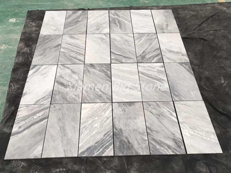 Polished Grey Marble Thin Panel