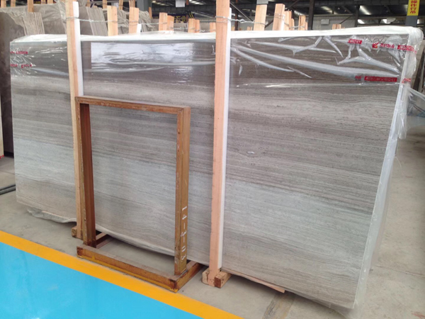 Grey Wood Grain Marble Wooden Grey Marble Slabs