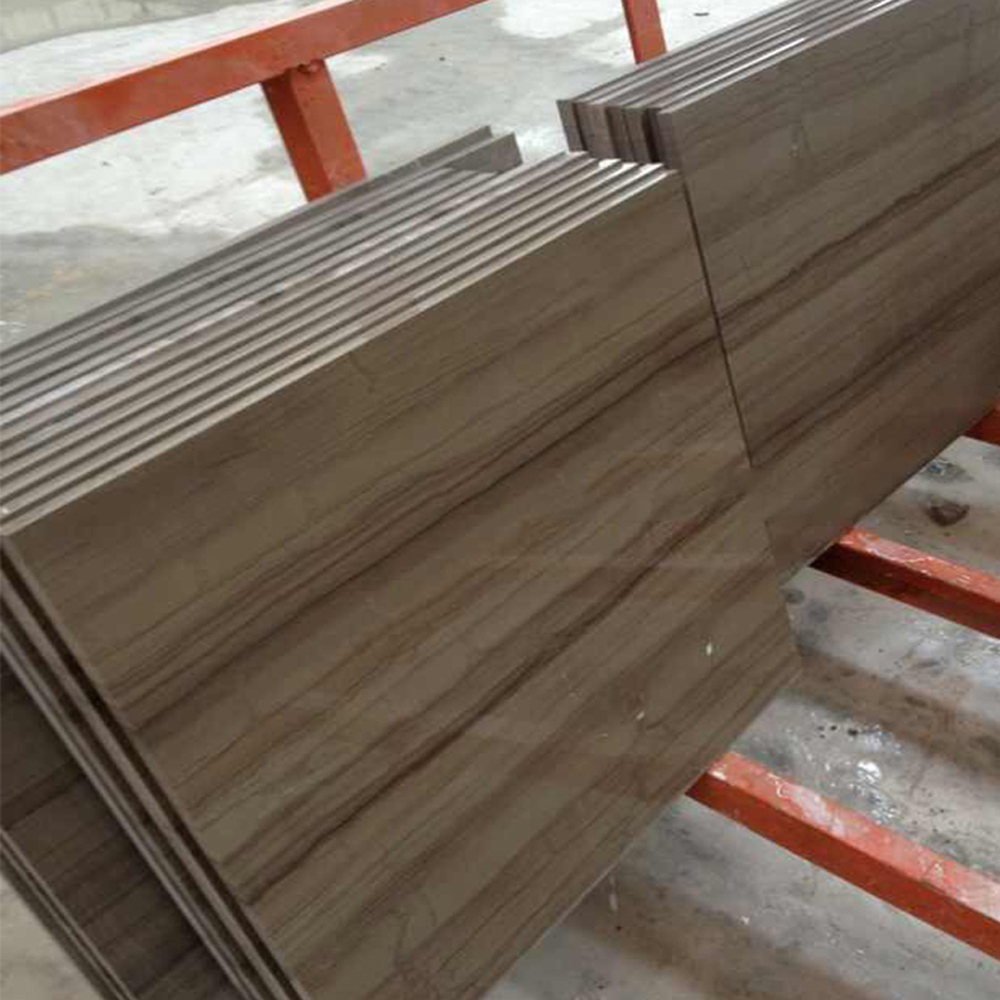 Grey Wooden Marble For Flooring