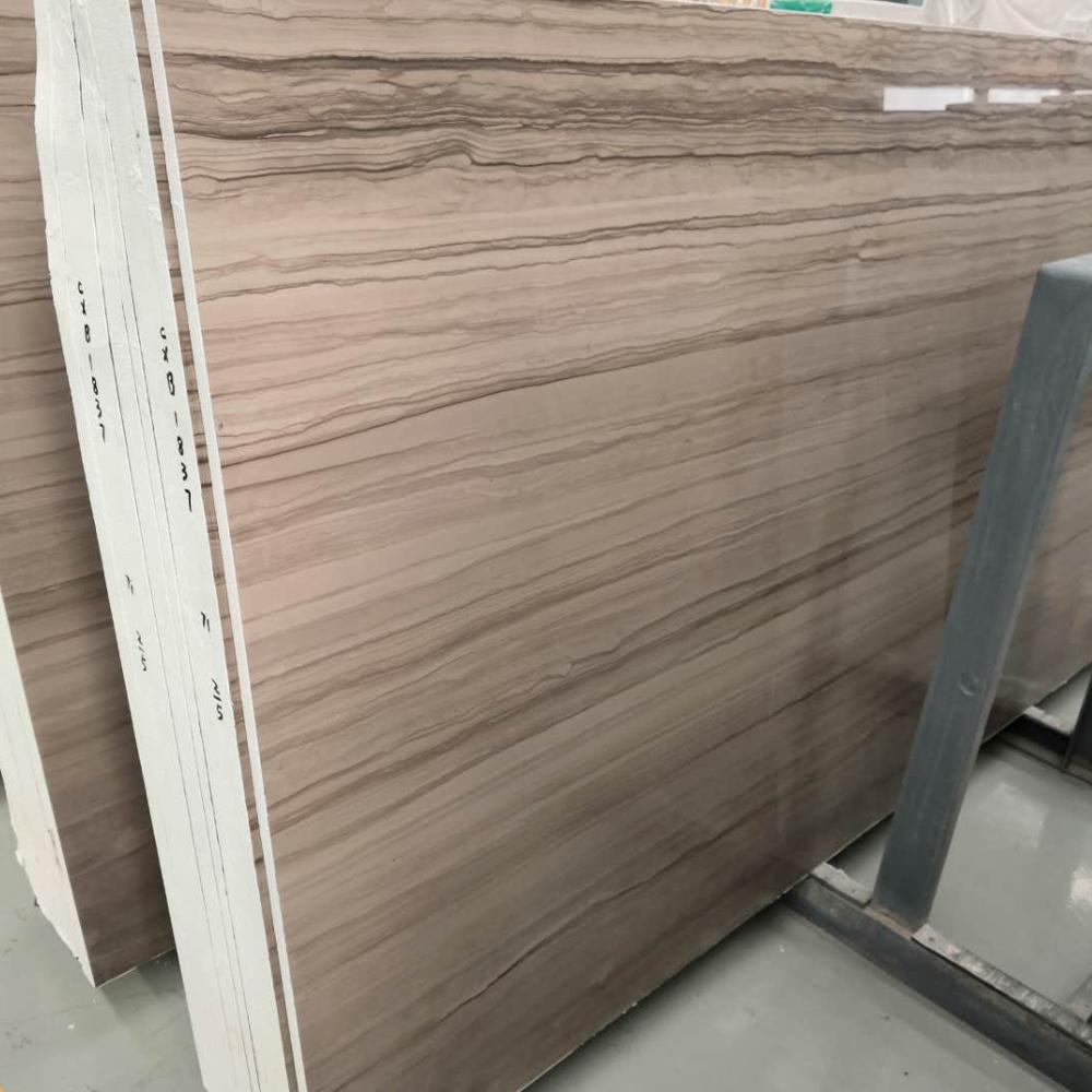 Top Quality Grey Wooden Marble For Hospitality